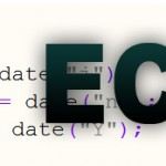 echo out current date with php